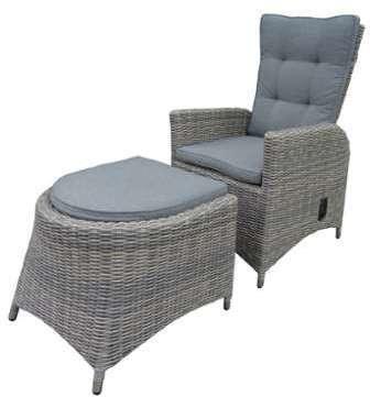 rotin chaise en grise liga chaise de salon. Black Bedroom Furniture Sets. Home Design Ideas