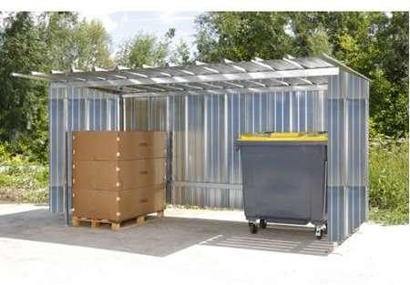 solid garage bois 1707 m. Black Bedroom Furniture Sets. Home Design Ideas