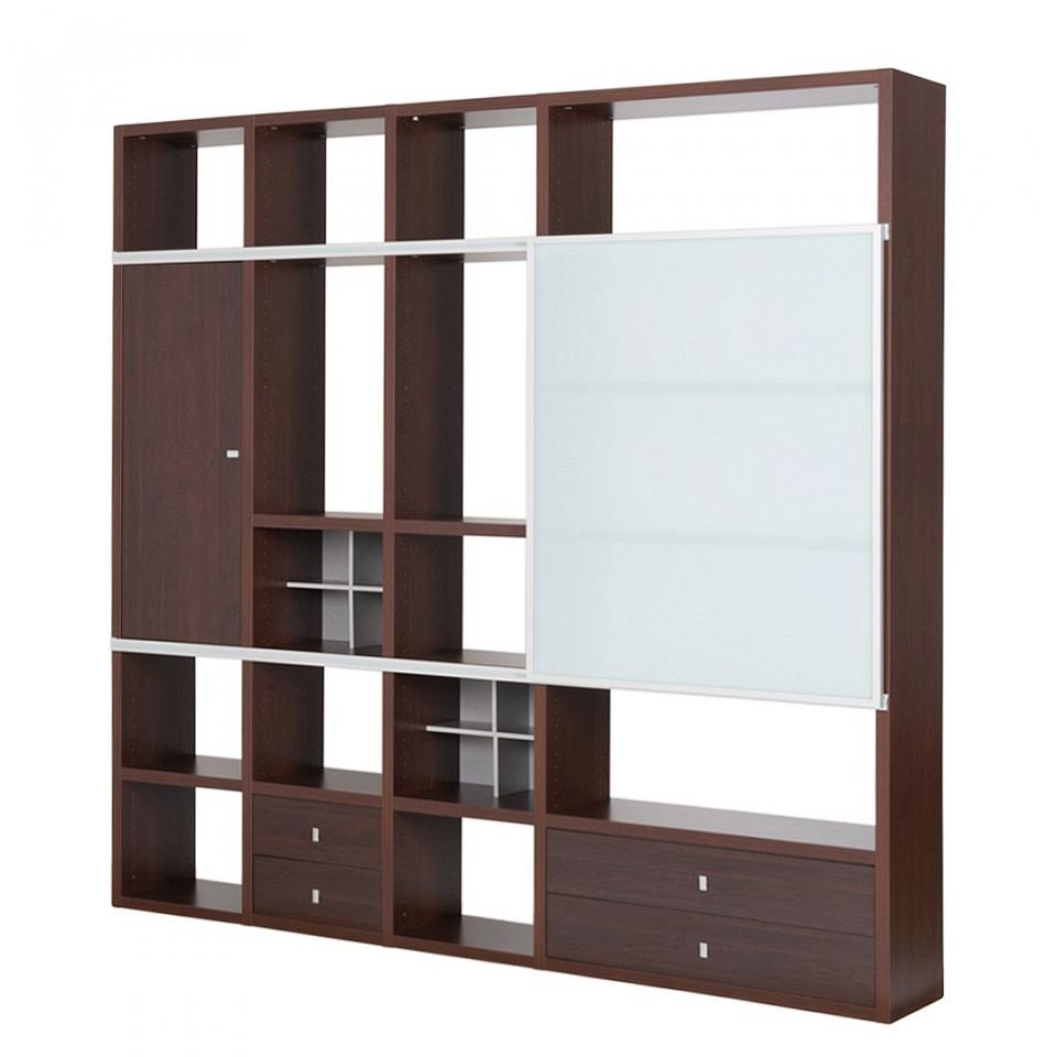 ensemble mural carero i 5 l ments blanc brillant. Black Bedroom Furniture Sets. Home Design Ideas