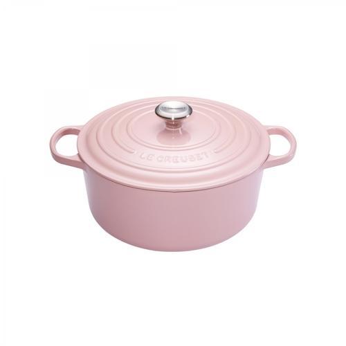 dition limite cocotte ronde 24cm rose convient pour four convient toutes les sources de chaleur. Black Bedroom Furniture Sets. Home Design Ideas
