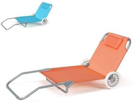 vidaxl lit de plage en aluminium pliable avec auvent et r. Black Bedroom Furniture Sets. Home Design Ideas