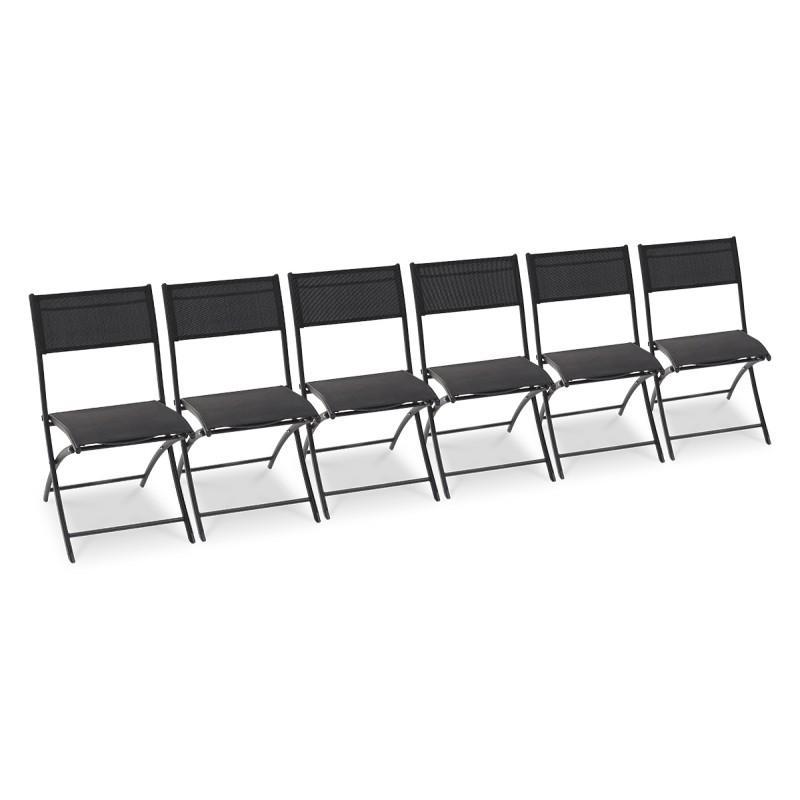 Catgorie fauteuil de jardin page 16 du guide et for Lot 6 chaises noires