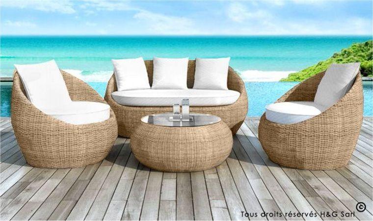 Best Table De Jardin Couleur Beige Pictures - Awesome Interior ...