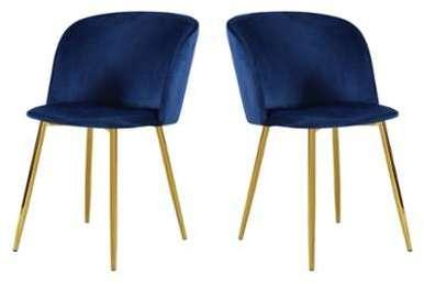 et velours de 2 table fauteuils pieds Vitikko dorés wkXOP80nNZ