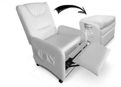 et en fauteuil et fauteuil pieds repose rBEQdxWCoe
