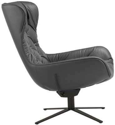 fauteuil leya structure pietement noir pxhxp