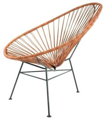 banc design acapulco gris 120 cm. Black Bedroom Furniture Sets. Home Design Ideas