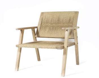 alice 2 fauteuils en r sine tress e nuances de gris. Black Bedroom Furniture Sets. Home Design Ideas