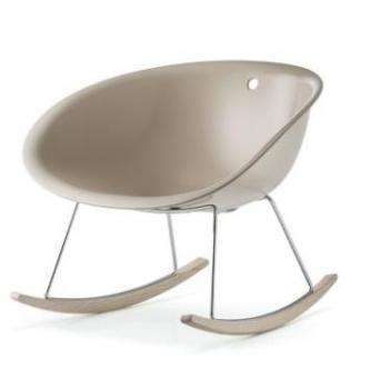 rotin rocking chair fauteuil valentino couleur chocolat et coussin cr me fauteuil de d tente en. Black Bedroom Furniture Sets. Home Design Ideas