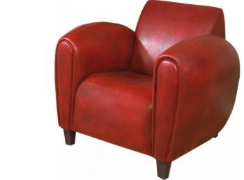 Cat gorie fauteuils page 12 du guide et comparateur d 39 achat - Fauteuil club cuir rouge ...