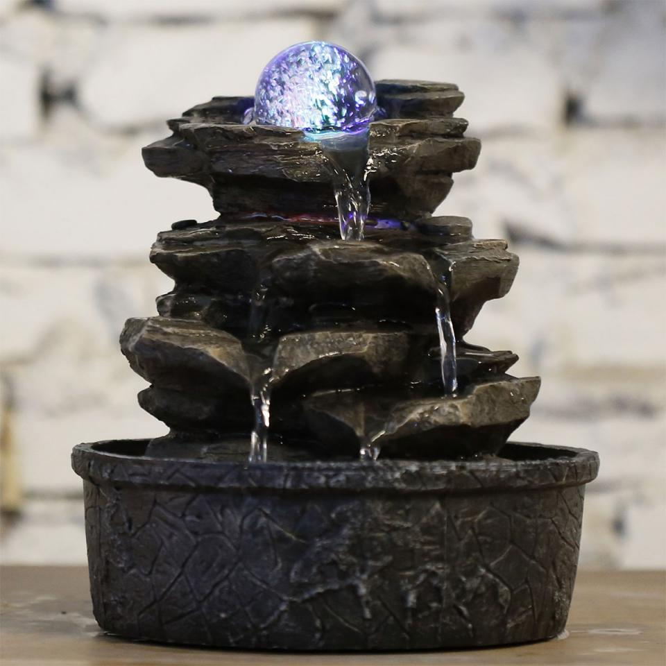 Fontaine Intérieure En Résine Little Rock 23 Cm