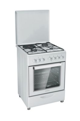 Cuisini re mixte rosieres rmc6321rb 4 foyers - Cuisiniere lave vaisselle four rosiere ...