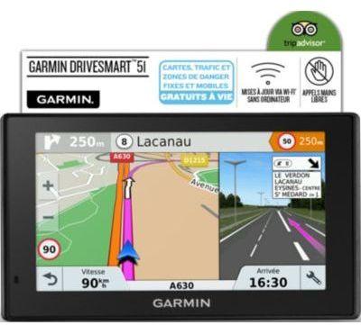 garmn gps drivesmart 51 010 01680 2g noir. Black Bedroom Furniture Sets. Home Design Ideas