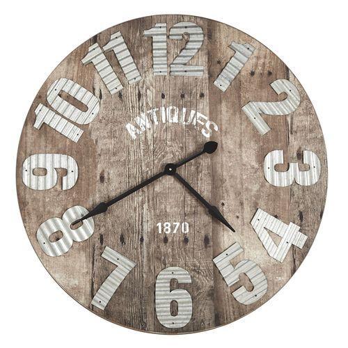 Catgorie horloges pendule et comtoise page 4 du guide et comparateur d 39 achat for Horloge murale design bois