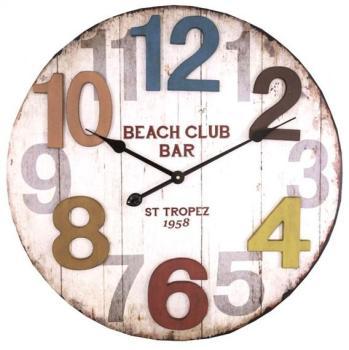 Cat gorie horloges pendule et comtoise page 10 du guide et comparateur d 39 achat for Horloge murale multicolore