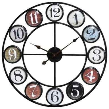 Catgorie horloges pendule et comtoise page 16 du guide et comparateur d 39 achat for Horloge en fer