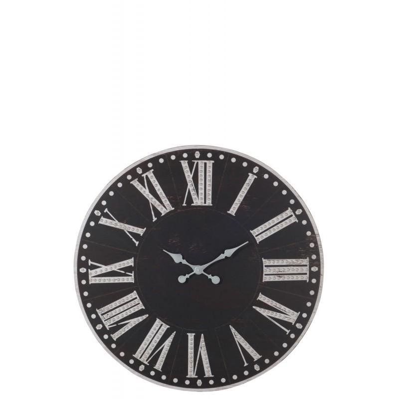 Catgorie horloges pendule et comtoise page 5 du guide et for Horloge metal noir