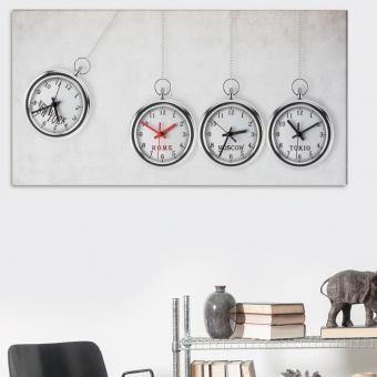 Catgorie horloges pendule et comtoise page 5 du guide et - Grande horloge murale moderne ...