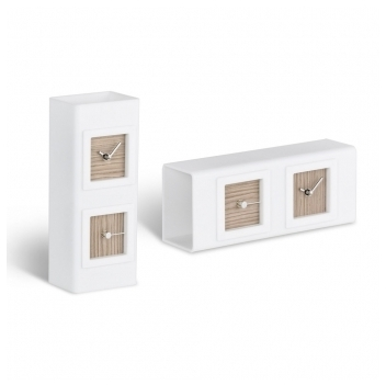 Catgorie horloges pendule et comtoise page 10 du guide et comparateur d 39 achat for Horloge murale bois moderne