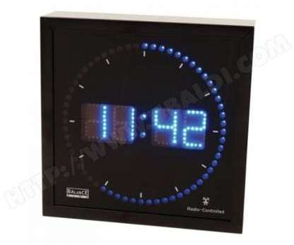 recherche horloge led du guide et comparateur d 39 achat. Black Bedroom Furniture Sets. Home Design Ideas