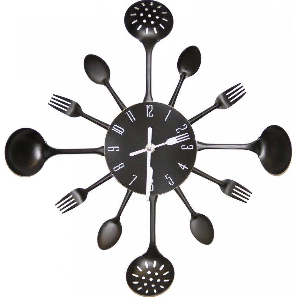 top horloge murale cuisine multicolor with pendule. Black Bedroom Furniture Sets. Home Design Ideas