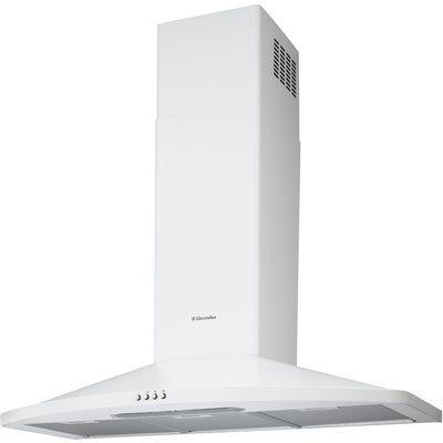 Hotte decor electrolux encastrable efc 90465 ow for Hotte evacuation ou recyclage