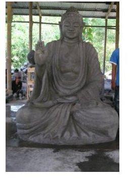 atmosphera c statue bouddha grand mod le pierre. Black Bedroom Furniture Sets. Home Design Ideas
