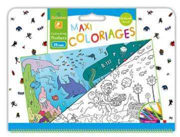 Cat gorie jeux cr atifs page 6 du guide et comparateur d 39 achat - Maxi coloriage ...