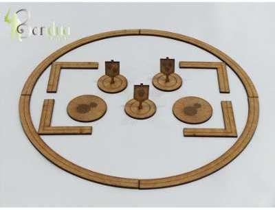 Kikkerland csupport de tablette en mdf et coussin micro perle - Panneau mdf 3mm ...