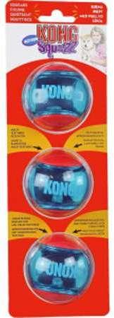 Kong Squeez Action pour petit chien - 3 unités Par trousse oVr7Tx