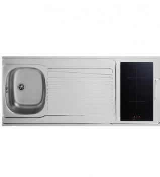 Catgorie kitchenettes du guide et comparateur d 39 achat - Evier avec plaque de cuisson ...