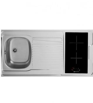 Catgorie kitchenettes du guide et comparateur d 39 achat - Evier plaque de cuisson integree ...