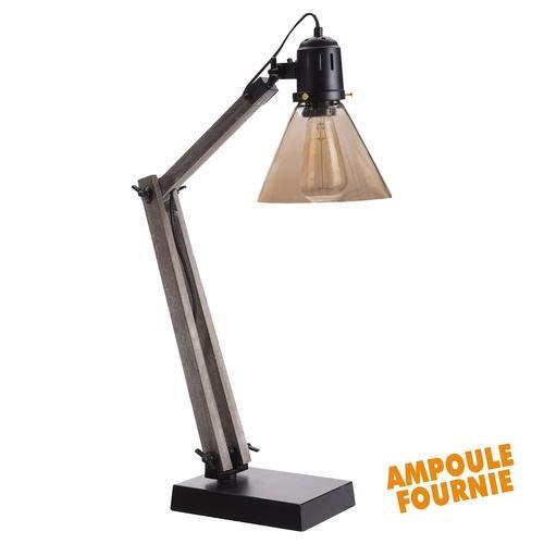 Catgorie lampe de salon du guide et comparateur d 39 achat for Lampe a poser style industriel