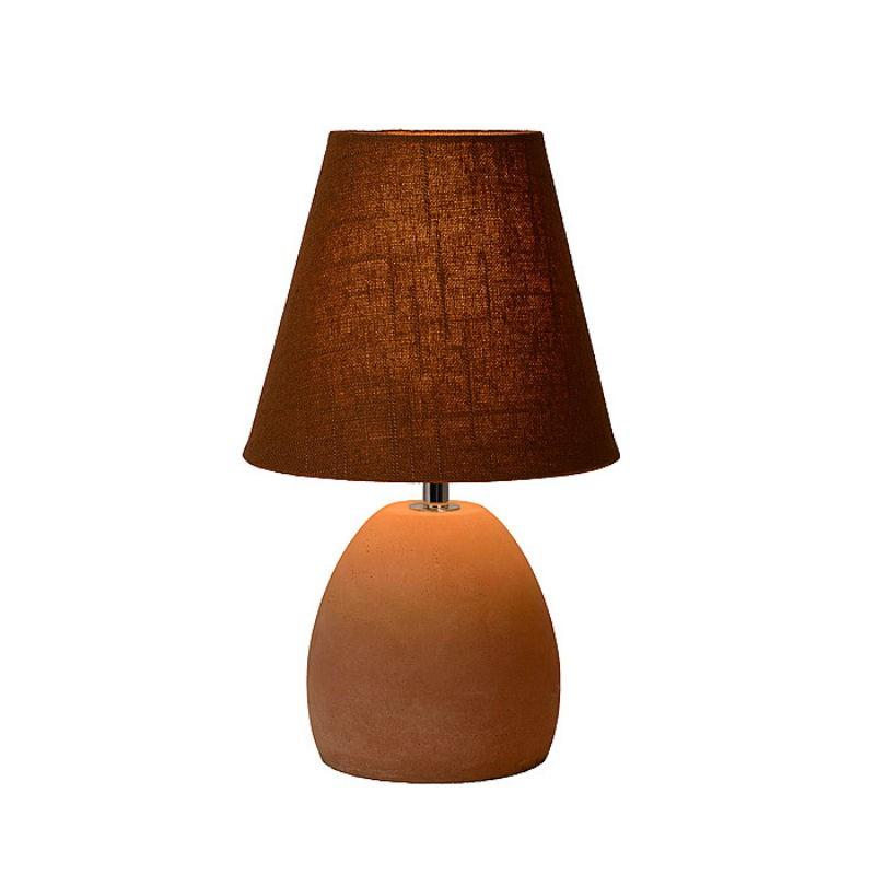sans lampe a poser solo 1 nickel mat 1x60w eglo lighting. Black Bedroom Furniture Sets. Home Design Ideas