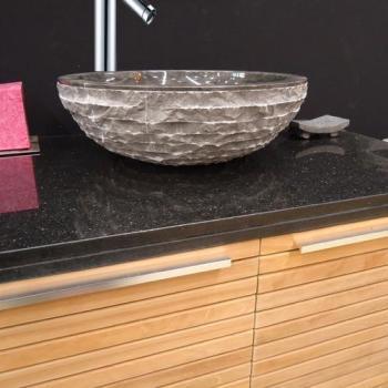 vasque de salle de bain a poser en marbre noir marmo ronde 40 cm Résultat Supérieur 16 Beau Vasque De Salle De Bain à Poser Galerie 2018 Hjr2