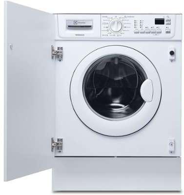 electrolux ewx 127410 w lave linge s chant hublot encastrable. Black Bedroom Furniture Sets. Home Design Ideas
