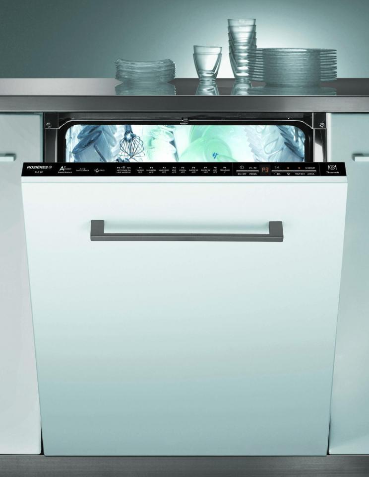 Lave vaisselle tout integrable 60 cm rosieres rlf 99 - Lave vaisselle 60 cm ...