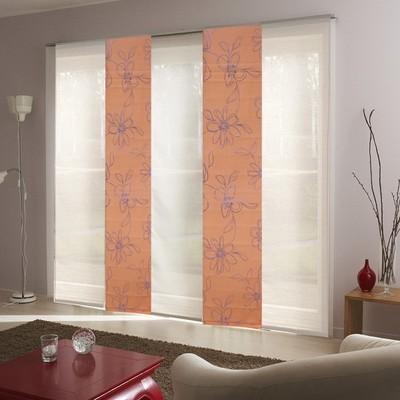 rail panneau japonais aluminium blanc arigato 170cm. Black Bedroom Furniture Sets. Home Design Ideas