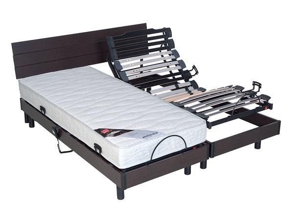 relaxima csommier de relaxation electrique merisier plots. Black Bedroom Furniture Sets. Home Design Ideas