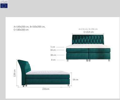 esprit ctapis cosy glamour noir 160x225 par. Black Bedroom Furniture Sets. Home Design Ideas