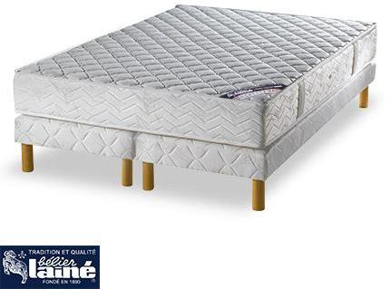 someo ensemble matelas mississipi luxe sommier pieds 14. Black Bedroom Furniture Sets. Home Design Ideas