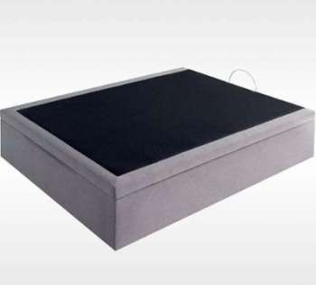 lit coffre en kit coloris cru. Black Bedroom Furniture Sets. Home Design Ideas