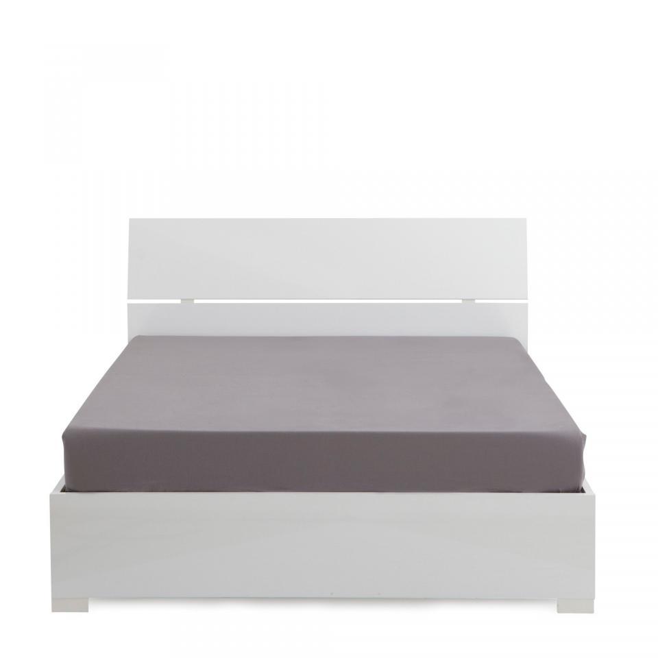 lit coffre elphege 160x200cm ch ne blanchi. Black Bedroom Furniture Sets. Home Design Ideas