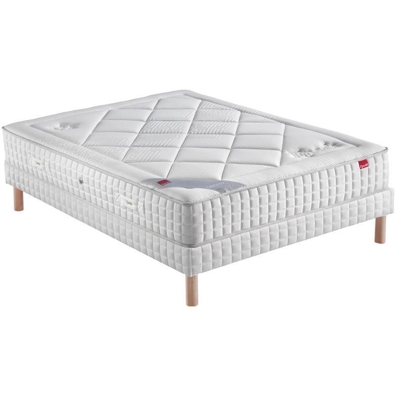 sommier 200x200 best lit adulte x cm avec sommier lattes malibu existe place place with sommier. Black Bedroom Furniture Sets. Home Design Ideas