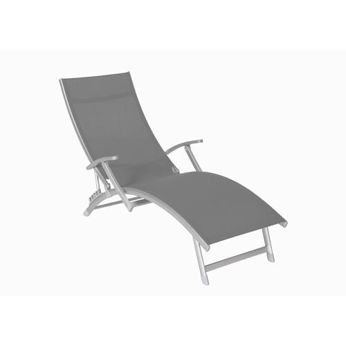 fermob cbistro mtal chaise longue pliante. Black Bedroom Furniture Sets. Home Design Ideas