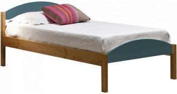 lit combin enfant milky 90x190 cm blanc gris loft. Black Bedroom Furniture Sets. Home Design Ideas