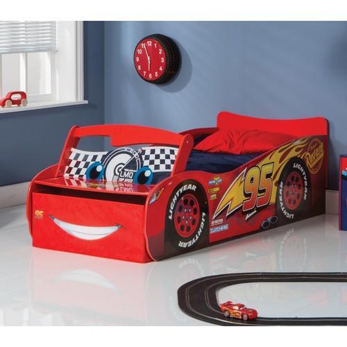 Lit voiture enfant junior rouge for Lit 70x140 age