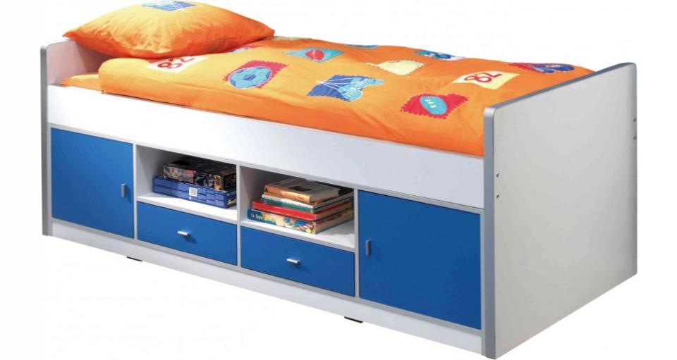 armoire bonny 3 portes bleu. Black Bedroom Furniture Sets. Home Design Ideas