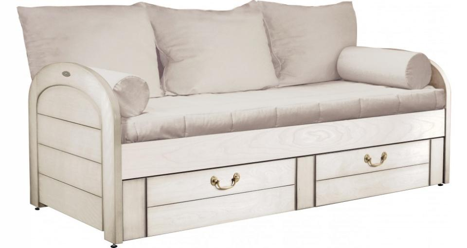 lit gigogne macha merisier. Black Bedroom Furniture Sets. Home Design Ideas