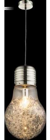 Lumiere Globo Interieur Mat Suspension Nickel nwP0kO